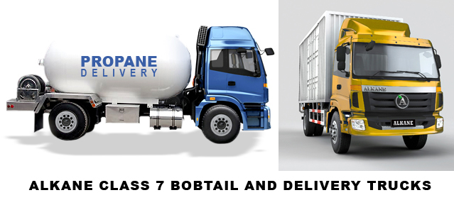 Alkane Truck Company to Introduce Two Propane-Powered Trucks