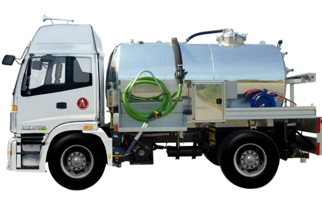 Alkane Truck Company partners with Amthor International for Tank Bodies on Alternative Fuel Trucks